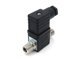 2-2-Wege-Coaxial-Magnetventil BMV60404 Edelstahl EPDM - FKM mit Ventilstecker