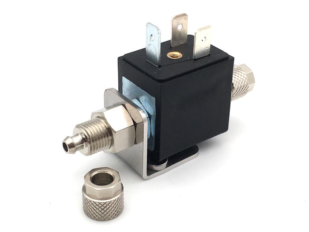 2/2-Wege-Coaxial-Getränke-Magnetventil BMV61010 in Edelstahl für Wasserdispenser für Mineralwasser und Tafelwasser